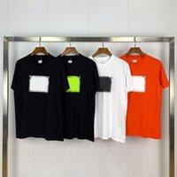 2021 Pringing T-Shirt Baumwolle Sommer Straße Skateboard Herren T-Shirt Männer Frauen Kurze Ärmeln Casual T-Shirt Größe M-2XL
