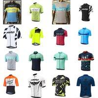 Morvelo Pro 팀 남성 통기성 자전거 짧은 소매 저지 도로 경주 셔츠 타기 자전거 탑 야외 스포츠 Maillot S21042325