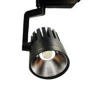 LED Rail Tracklight Spotlight Lampe Remplacer 300W Halogen chaud chaud 3000k froid 6500K naturel 4000K 110V 220V
