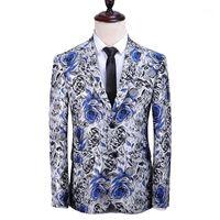 QJ Cinga Marke Herren Anzug Jacke Größe S-5XL, Mode Business Casual Männliche Blazer Mantel, Blau Rot Schwarz Gold JAQUETA1