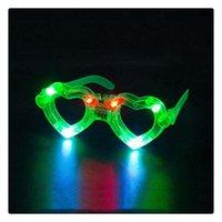 Cam Işık LED LED Plastik EEA499 Dekor Gözlük Işık Glow Oyuncak Cam Çocuk Gösterisi Kutlama Neon Parti Noel Up 496 V2
