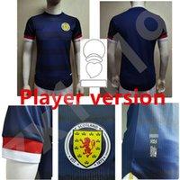 Escócia Futebol Jerseys Version Version Home Homens 2021 Fraser Robertson Camisa de Futebol McGinn Naismith McGregor Christie Forrest Shirts Shirts Uniformes