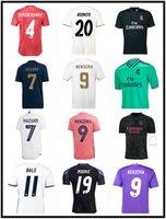 2016 2017 2017 2017 2018 2019 2020 20220 2021 ريال مدريد لكرة القدم جيرسي 16 17 18 19 20 21 Bale Benzema Madric الرجعية قمصان كرة القدم خمر ISCO Maillot Sergio Ramos Ronaldo