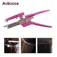 AOBOCCA 6D Extensión Máquina humana Sin rastro Conector Keratin Hair Professional Equipment for Salon