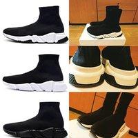 도매 2021 스피드 트레이너 블랙 레드 럭셔리 높은 캐주얼 양말 신발 남성 여성 저렴한 패션 파리 디자이너 운동화 품질 EUR36-4