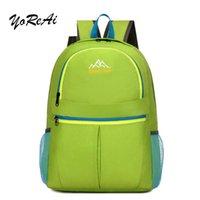 Рюкзак yoreai 2021 большая емкость складной рюкзак мужчина женщина путешествия сумка альпинизм мужского багажа сумки рюкзаки