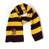 Venda de Harry Potter Cosplay Scarf Slytherin College Bae