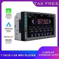 """Player 2G32G ROM AUTO Mirror Link 2din 7"""" Navigation GPS Multimedia MP5 Radio Android Wifi USB Support Ipone Carplay Fm VIDEOS Car Dvd"""
