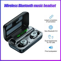 Headphones & Earphones TWS Wireless Bluetooth LED Dispaly Noise Reduction Touch Control HIFI Stereo Sport Earbuds With Charging Case