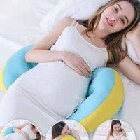 Специальная подушка для беременных с талией и боковой спящей подушкой Многофункциональная U-образная подушка для поддержки живота F8146 210420