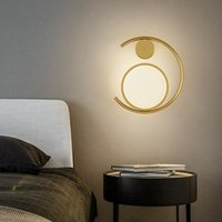 Modern Minimalist LED Wall Lamps Simple Home Bedroom Bedside Lamp Nordic Hotal Living Room Background Wall Light Creative Aisle Staircase Bathroom Indoor Lighting