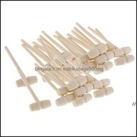 Other Garden Home & Gardenmini Wooden Hammers Mti-Purpose Natural Wood Hammer For Kids Educational Learning Toys Crab Lobster Mallets Poundi