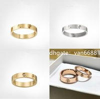 Ladies Rings Pendant Necklaces carti ring Screw Bracelet Party Ring Wedding Couple Gift Lov torie Fashion Luxury Designer with box