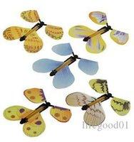 1000 stücke Magische Schmetterling fliegende Schmetterlingsänderung mit leeren Händen Freiheit Schmetterling magische Requisiten Zaubertricks
