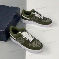 عالية الجودة 1.1 جلد طبيعي الأحذية الخضراء الرجال النساء القوات الجوية 1 انخفاض قطع واحد 1 ثانية عارضة الأحذية الأبيض الأسود دونك الرياضة سكيت المدربين الكلاسيكية أحذية رياضية عالية تفعل 1 #