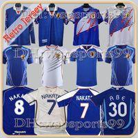 Nakata Giappone Retro Soccer Jerseys Vintage 1994 1998 99 2000 2006 Soma Akita Okano Kawaguchi 2002 Camicia da calcio classica Kazu Hattori Manica lunga