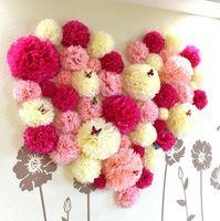 10 cm 15 cm 20 cm 25 cm hochzeit dekorative papier pompoms pom poms 4 6 8 10 cm bälle party wohnkultur tissue geburtstag dekoration