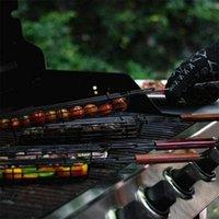 DHL 50 шт. На улице Приготовление барбекю для барбекю гриль сетки барбекю инструменты металлический клип корзина RRD7690