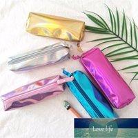 Pencil Bags PU Leather Holographic Hologram Metallic Color Laser Bag Case Purse Woman Cosmetics Makeup Handag Portable Large Capacity1 Factory price expert design