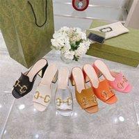 Top Qualität Frauen Sandalen Horsebit Gold-tonte High Heels Mode Quadratische Zehe Hausschuhe Leder Pumps Schwarz Weiß Brautkleid Sandale
