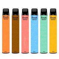 Original Randm Switch vape sticks 2400 Puffs 2in1 E Cigarette RGB Light 6% 8ml Pod 650amh Rechargeable Battery disposable vapes puff bars bulk