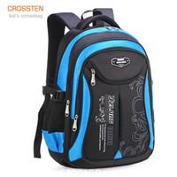Crossten Quality Waterproof Children's Backpack Boys Girls Primary Schoolbag Kindergarten Infantil Kids Mochila