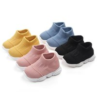 Children Shoes Sport Fashion Toddler Kids Girls Boys Striped Mesh Shoe Running Comfort Sneakers Soft Sole Casual