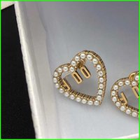 2021 Women Earings Fashion Jewelry Designers Accessories Women Luxurys Designers Earring Studs Pearl Earrings Designers Eamings Earring