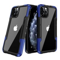 For Iphone 11 Protective Cases Suitable iPhone12 Pro iPhoneXR XS Max 7 8 Plus 2 in 1 Hybrid Shockproof Armor Mobile Phone Cover