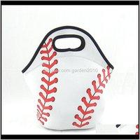 Armazenamento Neoprene Baseball Esporte Saco de Almoço Isolado Sacos Refrigeradores MVZWM S1VGO