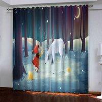 Fenstervorhang Blackout Vorhänge Kreativitätsvorhänge für Wohnkultur Japan Stil Hochzeitsraum Cortinas