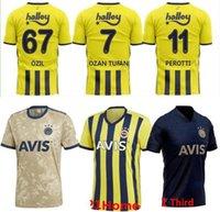 21 Fenerbahce 20 كرة القدم الفانيلة 2020 2021 Camisetas دي Fútbol الرئيسية ميسوت Özil Ozan Tufan Perotti Samatta Camiseta كرة القدم قمصان موحدة