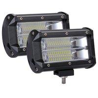 Zwei Reihen von 5 Zoll 240W Auto-Licht-Baugruppe für LKW-Autos LED-Arbeitsleiste Off Road SUV-Boot 12V 24V Arbeit