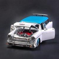 Maisto 118 1955 Chevrolet Nomad Legierung Auto Modell Druckguss Modell Auto Simulation Auto Dekoration Sammlung Geschenk Spielzeug
