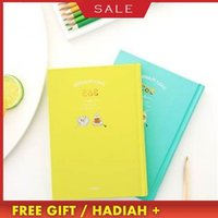 New Korean Kawaii Cute 365 Daily Weekly Monthly Yearly Planner Agenda Schedule Day Plan Notebook Journal Dairy A5