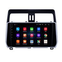"""Auto Auto DVD Player con navigazione GPS per Toyota Prado-2018 Supporto Steer Wheel Control 10.1 """"Android"""