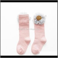 Clothing Baby, Kids & Maternity Canis Baby Girl Knee High Flower Bows Princess Socks Cute Long Tube Booties1 Drop Delivery 2021 Njps0