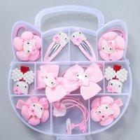 Taşınabilir Firkete Prenses ET58 Firkete Çocuk Headdress Bebek Saç Daire Koreli Kızın Yeni Fıta Hediye Kutusu