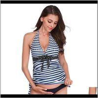Swimwears Clothing Supplies Baby, Kids & Maternityone Piece Maternity Swimwear High Waist Female Clothes Summer Bowknot Pregnancy Swimsuit Be