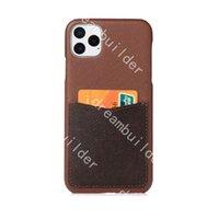 Design de telefone de moda para iphone 12 pro máximo 11 11PRO 11PROMAX 7P 8P 7 8 mais x xs xs xsmax pu clássico couro proteção case designer capa com caixa de cartão de caixa