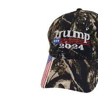 25pcs / DHL Camouflage Trump 2024 Chapeau de boule Femmes Designers Designers Snapback Caps Baseball Casquettes Anti Biden US Flag Maga Summer Sun Visor0 964 V2