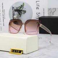 선글라스 여성 남성 디자인 패션 클리어 렌즈 프레임 Glasse 파일럿 안경 투명 컬러 태양 안경