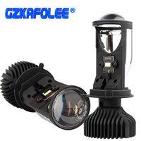 Canbus 90W / PACING Lampada H4 LED Mini proiettore Lens Automobles Bulb 20000LM Kit di conversione Hi / Lo Fascio Faro 12V / 24V RHD LHD