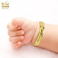 Braccialetto del braccialetto Personalizza Braccialetto del bambino Braccialetto Borgo Bangles Nome personalizzato Gioielli di rame Bambini Regolabili Bambini regolabili Ragazze Ragazzi Regalo di compleanno