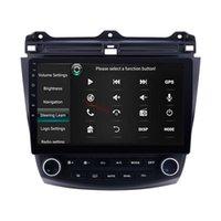 Radio de voiture DVD radio 10,1 pouces Unité de tête Android pour Honda Accord 7 2003-2007 avec GPS WiFi Stereo