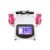 Slimming Professional 40K Ultrasonic Cavitation RF Machine Radio Frequency Laser 8 Pads Multipolar Lipo BeautyMachine