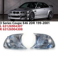 Clear Marker Signal Blinker Corner Parking Light Lamp For - E46 3 Series Coupe 1999-2001 63126904307 63126904308 Car Headlights
