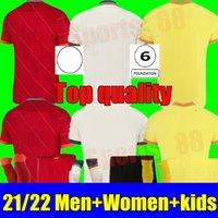 2021 2022 футбольные трикотажки 22 22 Клуб Футбол футболка Леди Джерси Детский Детский Camisa de Futebol Взрослый GK Вратарь Мужчины Женщины Детский комплект Пустой Камиссета Униформа Наборы