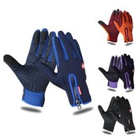 Ski Gloves Winter Outdoor Sports Windstopper Waterproof Thermal Cycling For Men Women Motorcycle Driving Hiking Skiing