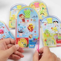 5pcs 만화 큰 핀 공 퍼즐 대리석 게임 장난감 아이들 생일 파티 호의 기념품 베이비 샤워 Pinata 반환 선물 선물